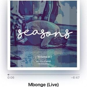 We Will Worship - Mbonge (Live)